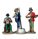 LEMAX Jeepers Creepers Jug Band       3 Piece Set -Spooky Town Village
