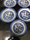 Chinese Porcelain Plates Blue  White Canton Ware