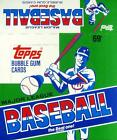 1987 Topps Baseball Cello - Empty Display Box - EXCELLENT Condition