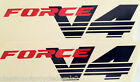 HONDA NC30 VFR400R FORCE V4 FAIRING DECALS