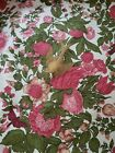 Vintage Waverly Mayflower Document Flowered Upholstery Fabric By The Yard BTY