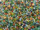 4 Pounds Assorted Colors and Styles India Glass Beads Wholesale Bulk Lot NP 2