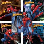 20 Spiderman STICKERS Party Favors Supplies Birthday Treat Loot Bags Spider Man