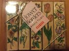 HERO ARTS 1995 FLOWER BORDERS Collection of 5 Individual Rubber Stamps RARE