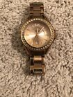 Women's Fossil ES-2889 Mini Riley Crystal Accent Date Display Watch #761