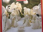 Lenox Holiday Pattern Miniature Nativity 7 Piece Set NIB Free Shipping