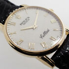 ROLEX CELLINI HANDAUFZUG 18K GOLD 32mm BOX PAPIERE 2010 UHR Ref. 5116/8 REVISION