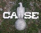 Cast Case Eagle Tractor Sign Antique Texaco Massey Ferguson Harris Pulling Iron