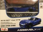 Assembly Line Maisto 2013 SRT Viper GTS Die-Cast Metal Diorama Model Kit #107