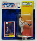 STEVE AVERY - Kenner Starting Lineup MLB SLU 1994 Figure & Card - ATLANTA BRAVES