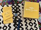 Breitling Colt A17350 500M 38mm Automatic Watch - Chronometer Blue Beautiful