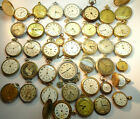 38 POCKET WATCHES FOR REPAIR OR PARTS CYMA HOWARDSTANDARD GRUEN ADMIRAL CHARLIN