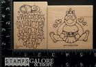 WHIPPER SNAPPER RUBBER STAMPS WELCOME TO YOUR NEW BOUNCING BUNDLE BABY 1328