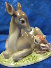 BAMBI DISNEY PORCELAIN FIGURINE NAO BY LLADRO  #1710