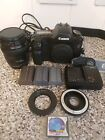 Canon EOS 5D 12.8MP Digital SLR Camera - Black