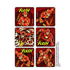 25 The Flash STICKERS Party Favors Supplies for Birthday Treat Loot Bags