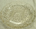 L.E. Smith Moon and Star Relish dish clear