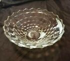 Indiana Glass Whitehall 3 Footed Clear Glass Fruit/Serving/Centerpiece Bowl