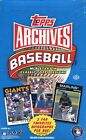 2012 Topps ARCHIVES MLB Baseball Hobby Box (2 Autos)- New Sealed