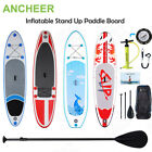 ANCHEER All around 10ft Surfboard SUP Fins Paddle Surf Boards Summer Beach Ocean
