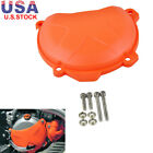 Engine Clutch Cover Guard ABS Plastic For KTM 250 SXF 13-15,EXC-F/SIX DAYS 14-16