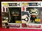 Funko Pop DC Heroes - RED WING ROBIN & BATMAN (STEAMPUNK) - HT Exclusives