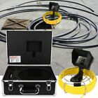 304050m Sewer Snake Camera Pipe Pipeline Drain Inspection System 4.3 Monitor