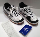 MIZUNO WAVE HURRICANE 2 WHITE VOLLEYBALL SNEAKERS US WOMENS 9W Wide Without Flaw