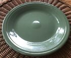 """10-1/2"""" DINNER PLATE SAGE GREEN HOMER LAUGHLIN FIESTA WARE GENTLY USED CONDITION"""