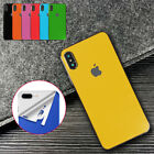 7 Colors Gloss Skin Vinyl Sticker Ultra Thin Back Phone Cover For Apple iPhone
