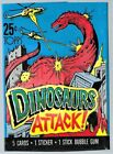 1988 Topps Dinosaurs Attack Trading Cards 27