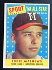 Eddie Mathews Cards and Autographed Memorabilia Guide 7