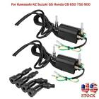 Fit For Kawasaki KZ Suzuki GS Honda CB 650 750 900 Motorcycle Ignition Coil Set