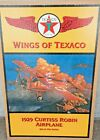 WINGS OF TEXACO 1929 CURTIS ROBIN AIRPLANE - 1998 - #6 in Series ~ MINT IN BOX
