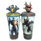 2Pcs Pacific Rim Uprising Gipsy Avenger Raijin Cup Topper Movie Cinemas
