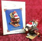 HALLMARK 2004 SERIES ORNAMENT #1~NICK and CHRISTOPHER~DOWNHILL DELIVERY