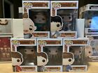 Funko Pop Goonies Complete Set 5 Pops w Protectors Vaulted Sloth, Data, Mouth