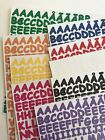 SASSY Creative Memories ABC 123 Mini Letter Number Stickers YOU CHOOSE
