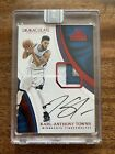 2019 Panini Black Box 2016-17 Immaculate Karl-Anthony Towns Patch Autograph 1 1