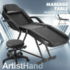 Portable Massage Facial Table Bed Tattoo Salon Chair Adjustable Hydraulic Stool
