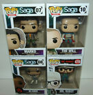4) Pop! Comics Saga #7 8 10 The Will & Marko Funko + MR ROBOT CHASE ? Set Lot
