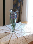 2004 vandermark and Merritt Bearded Iris Vase for Lenox Limited Edition only 100