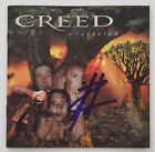Scott Stapp Signed Creed Weathered CD Booklet Lead Singer Human Clay Legend RAD