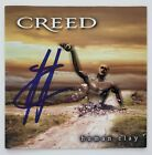 Scott Stapp Signed Creed Human Clay CD Booklet Lead Singer Weathered Legend RAD