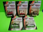 TEXACO 1:64th MATCHBOX COLLECTIBLES SET OF 5 DIECAST TOY CARS AND TRUCKS BLK/WHT