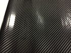 Car Stickers Carbon Fiber Vinyl 12x60 5D Ultra Shiny Gloss Glossy Wrap Black