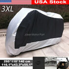 3XL Waterproof Motorcycle Silver Cover for Suzuki Boulevard C/S50 C/M90 C/M109R