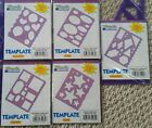 NIP LOT OF 5 Memories Forever Templates Square Star Balloons Oval Geometric
