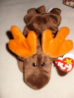 TY BEANIE BABY CHOCOLATE MOOSE 1993 5TH GENERATION SWING TAG