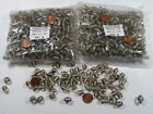 Two Pounds India Oval Fancy Handmade India Glass Beads Clearance Lot CG 54